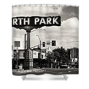 North Park San Diego Shower Curtain