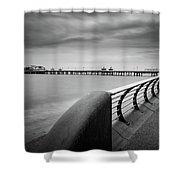 North Pier Blackpool Shower Curtain
