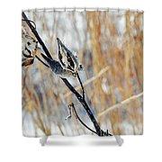 North Pond Prairie Grass Shower Curtain