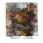 North Rim Of The Grand Canyon Shower Curtain