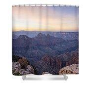 North Rim Sunrise 2 - Grand Canyon National Park - Arizona Shower Curtain