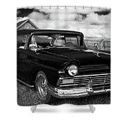 North Rustico Vintage Car Prince Edward Island Shower Curtain