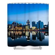 North Shore Evening Shower Curtain
