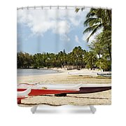 North Shore, Haleiwa Shower Curtain