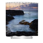 North Shore Tides Shower Curtain