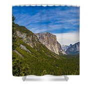 North Side Of South Valley Of Half Dome Shower Curtain