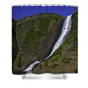 North Table Mountain Spring Falls Shower Curtain