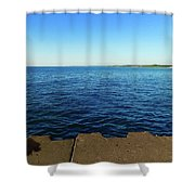 North To Sleeping Bear Shower Curtain