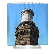 North Tower - Lighthouse Shower Curtain