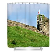 North Tower- Tutbury Castle Shower Curtain