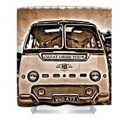 North Wales Nostalgia Shower Curtain