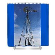 North Windmill Shower Curtain