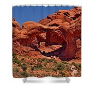 North Window Shower Curtain