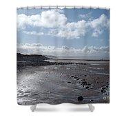 Northam Burrows Beach Shower Curtain