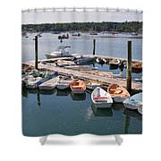 Northeast Harbor Maine Shower Curtain