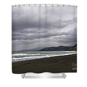 Northern California Beach Shower Curtain