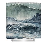 Northern California Coast Shower Curtain