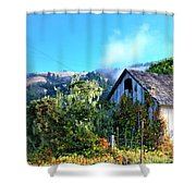 Northern California Cottage Shower Curtain