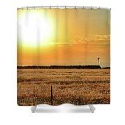 Northern California Sunrise Shower Curtain