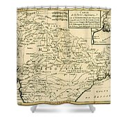 Northern India Shower Curtain
