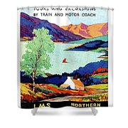 Northern Ireland, Scenery, Tours And Excursions Shower Curtain