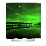 Northern Lights 3 Shower Curtain