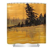 Northern Ontario Three Shower Curtain