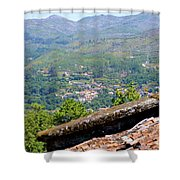 Northern Portugal  Shower Curtain