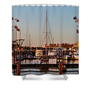 Northern Riverfront Shower Curtain