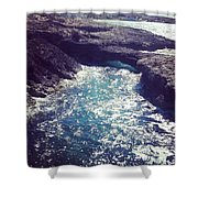 Northern Seas Shower Curtain