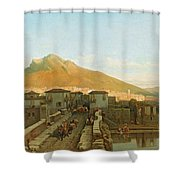 Northern Spain Shower Curtain