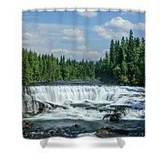 Northern Waterfall Shower Curtain
