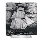 Northern Winds Shower Curtain