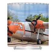 Northrop Raider Shower Curtain
