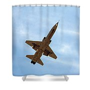 Northrop T-38 Talon Landing Shower Curtain