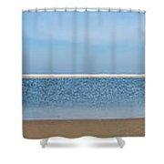 Northsea Panorama Shower Curtain