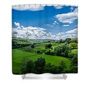 Northumberland Landscape Shower Curtain