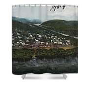 Northumberland On The Susquehanna River Shower Curtain