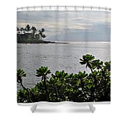 Northwest Maui Bay Shower Curtain