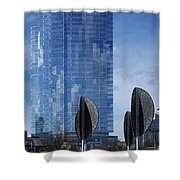 Northwestern Mutual Tower - Milwaukee Wisconsin 2017 Shower Curtain