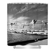 Norwegian Epic Visit Shower Curtain