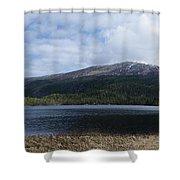 Norwegian Lake Shower Curtain