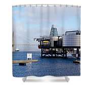 Norwegian Petroleum Museum Shower Curtain