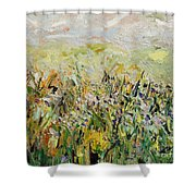 Nose Hill Shower Curtain