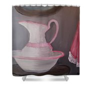 Nostalgia Shower Curtain by Glenda Barrett