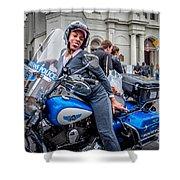 Not-a-cop In Jackson Square Nola Shower Curtain