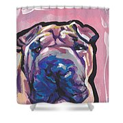 Not A Hippo- Just Hip Shower Curtain