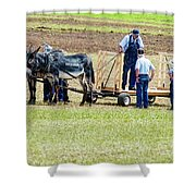 Not A Mule Shower Curtain