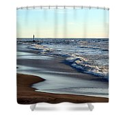 Not A Soul Grand Bend 3 Shower Curtain