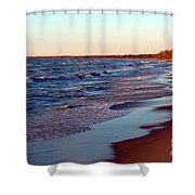 Not A Soul Grand Bend 7 Shower Curtain